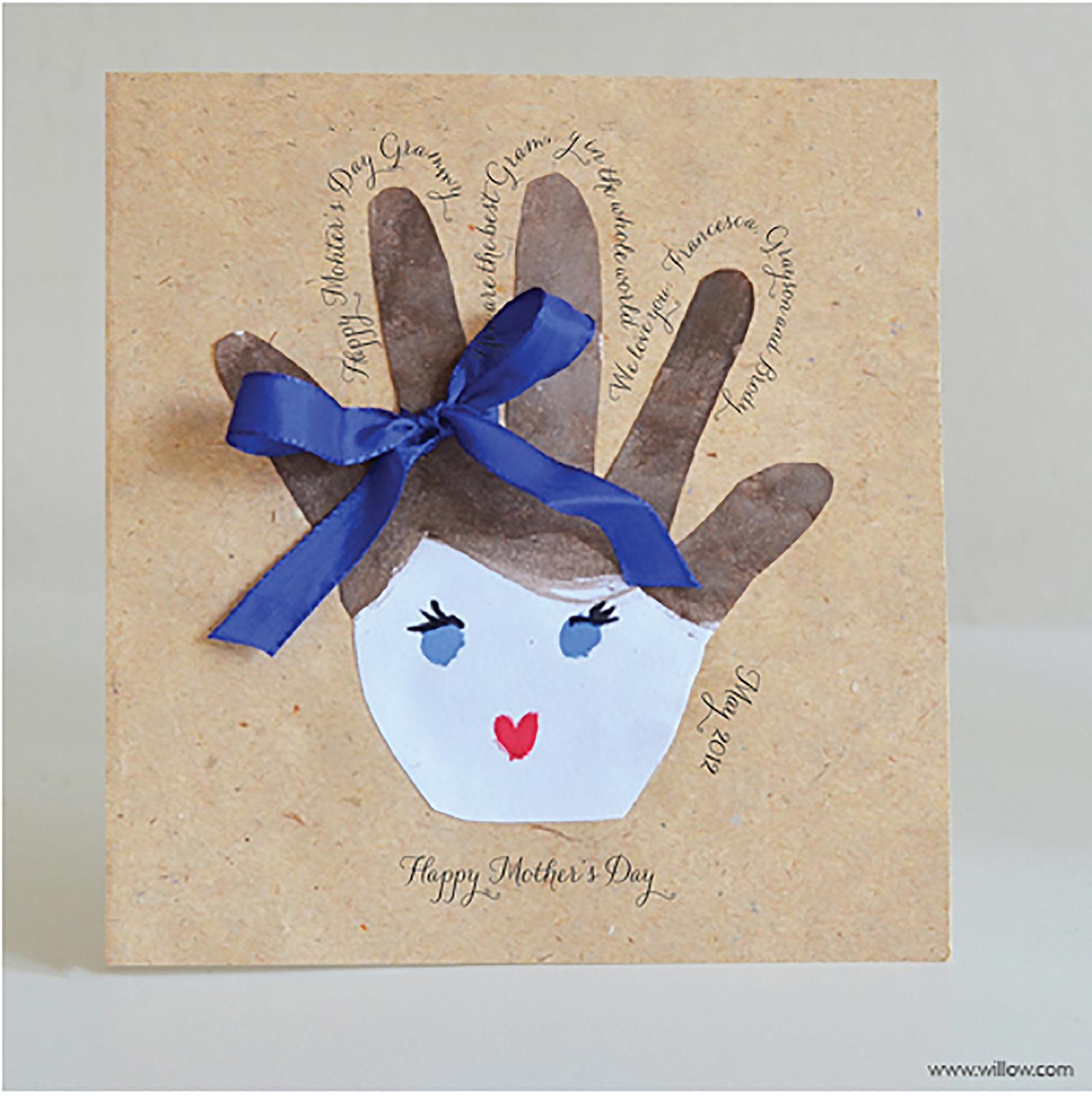 Детская открытка своими руками Поделки на Подарки. ру 9