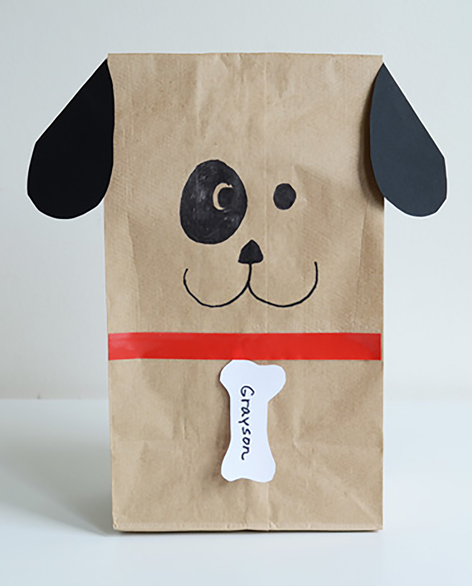 How To Make A Dog Out Of Construction Paper